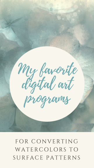 My favorite digital art programs