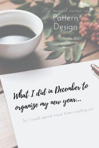 December Organization Binge